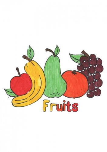 Colouring fruits